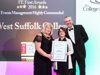 Annual Conference 2016, FE First Awards 2016, College Marketing Network, West Suffolk College, Events management