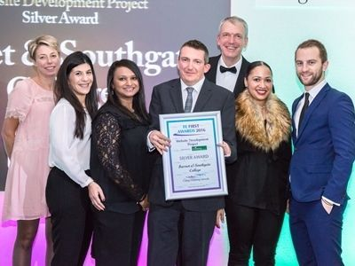 Barnet & Southgate College, College Marketing Network, FE First Awards 2016, Silver, Website Development