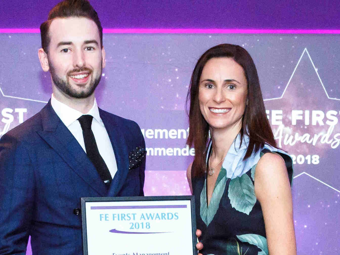 FE First Awards 2018, College Marketing Network, Telford College