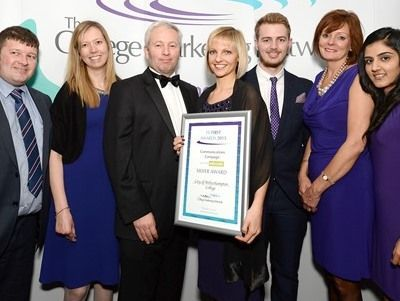 College Marketing Network, FE First Awards 2015, City of Wolverhampton College