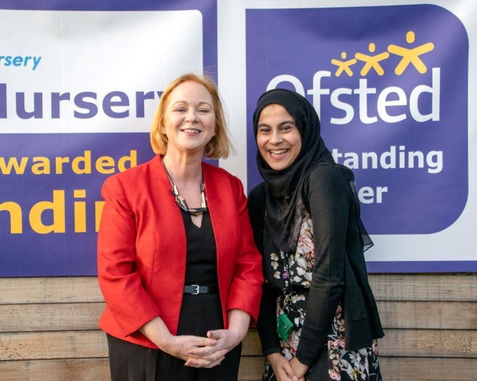 Judith Cummins MP and Saaiba Talib