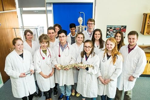 Richard Huish College, medical students