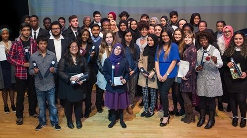 Leyton Sixth Form College Class of 2016 at their Achievement Awards celebration