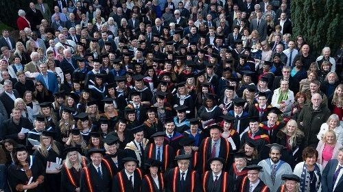 Warwickshire Colleges Group graduates 2016