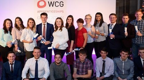 The Warwickshire Colleges Group Apprenticeship award winners
