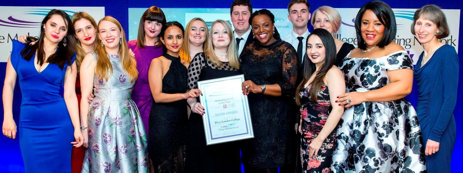 FE First Awards 2017, College Marketing Network, Marketing Team of the Year 2017 Silver, West London College