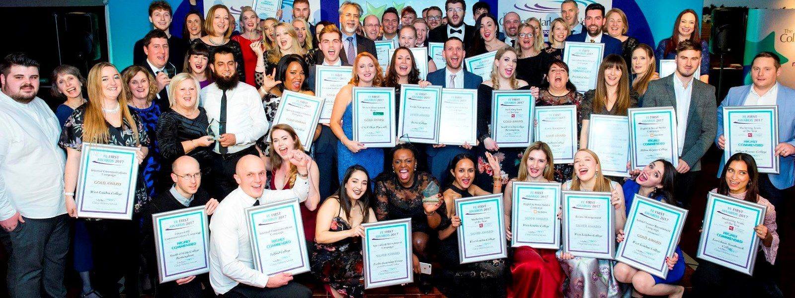 Our FE First Award winners 2017